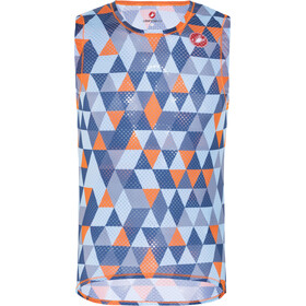 Castelli Pro Mesh Mouwloze Baselayer Jersey Heren, multicolor blue